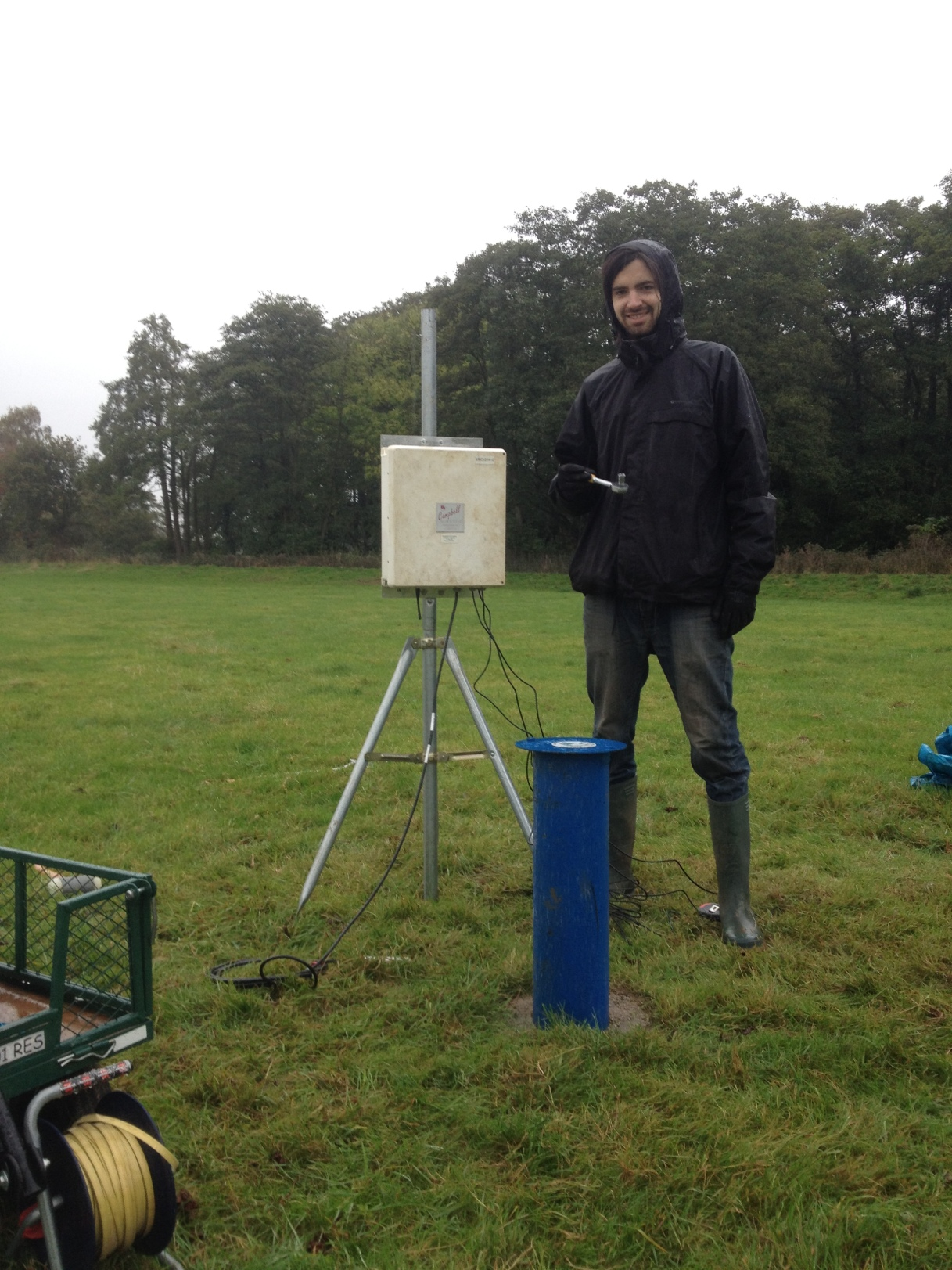 Monitoring water table on the Loddon Floodplain Platform begins…